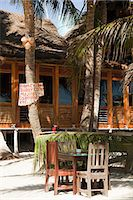 Beach hut cafe with sign in Quintana Roo, Caribbean Stock Photo - Premium Royalty-Freenull, Code: 6114-06601248