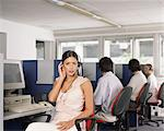 Call centre workers Stock Photo - Premium Royalty-Free, Artist: Beth Dixson, Code: 6114-06602184
