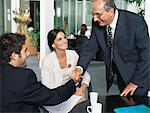 Business people shaking hands Stock Photo - Premium Royalty-Free, Artist: Blend Images, Code: 6114-06602208