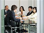 Business people having a discussion Stock Photo - Premium Royalty-Free, Artist: Uwe Umstätter, Code: 6114-06602225