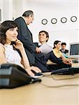 Business people working in the office Stock Photo - Premium Royalty-Free, Artist: Uwe Umstätter, Code: 6114-06602246