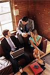 Colleagues in a bar Stock Photo - Premium Royalty-Free, Artist: Cultura RM, Code: 6114-06602479