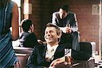 Businessman in a bar Stock Photo - Premium Royalty-Free, Artist: Aflo Relax, Code: 6114-06602483