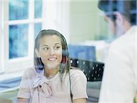 switchboard operator - Call centre workers Stock Photo - Premium Royalty-Freenull, Code: 6114-06602513