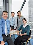 Office workers Stock Photo - Premium Royalty-Free, Artist: CulturaRM, Code: 6114-06602635
