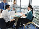 Office workers in meeting Stock Photo - Premium Royalty-Free, Artist: Ikon Images, Code: 6114-06602639