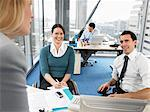 Office workers in meeting Stock Photo - Premium Royalty-Free, Artist: CulturaRM, Code: 6114-06602642