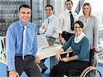 Office workers Stock Photo - Premium Royalty-Free, Artist: Zoran Milich, Code: 6114-06602648