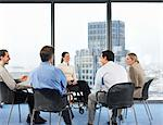 Office workers in meeting Stock Photo - Premium Royalty-Free, Artist: CulturaRM, Code: 6114-06602650