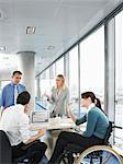 Office workers in meeting Stock Photo - Premium Royalty-Free, Artist: Michael Mahovlich, Code: 6114-06602654