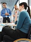 Office workers in meeting Stock Photo - Premium Royalty-Free, Artist: Robert Harding Images, Code: 6114-06602658