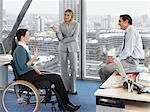 Office workers in meeting Stock Photo - Premium Royalty-Free, Artist: CulturaRM, Code: 6114-06602667