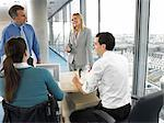 Office workers at a meeting Stock Photo - Premium Royalty-Free, Artist: Blend Images, Code: 6114-06602671