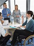 Office workers in meeting Stock Photo - Premium Royalty-Free, Artist: Ikon Images, Code: 6114-06602677