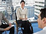 Office workers in meeting Stock Photo - Premium Royalty-Free, Artist: CulturaRM, Code: 6114-06602687