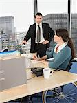 Two office workers in meeting Stock Photo - Premium Royalty-Free, Artist: CulturaRM, Code: 6114-06602689