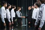 Colleagues shaking hands Stock Photo - Premium Royalty-Free, Artist: Robert Harding Images, Code: 6114-06602701