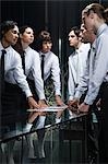 Female colleagues opposite male colleagues Stock Photo - Premium Royalty-Free, Artist: Cultura RM, Code: 6114-06602720