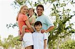 Happy family Stock Photo - Premium Royalty-Free, Artist: CulturaRM, Code: 6114-06602944