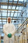 Scientist in protective suit Stock Photo - Premium Royalty-Free, Artist: Cultura RM, Code: 6114-06603127