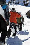 Skiers and snowboarders Stock Photo - Premium Royalty-Free, Artist: CulturaRM, Code: 6114-06603387