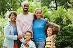 African american family Stock Photo - Premium Royalty-Free, Artist: Kablonk! RM, Code: 6114-06603668