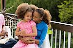 Mother and daughter outdoors Stock Photo - Premium Royalty-Free, Artist: Blend Images, Code: 6114-06603695