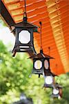 Japanese lanterns Stock Photo - Premium Royalty-Free, Artist: Ikon Images, Code: 6114-06604298
