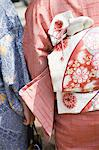 Women in kimonos Stock Photo - Premium Royalty-Free, Artist: Blend Images, Code: 6114-06604331
