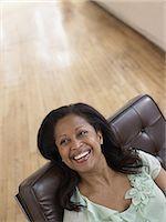 Happy woman Stock Photo - Premium Royalty-Freenull, Code: 6114-06604367
