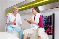 fitness older women gym - Mature women at the gym Stock Photo - Premium Royalty-Freenull, Code: 6114-06604391