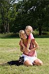 Mother and daughter Stock Photo - Premium Royalty-Free, Artist: ableimages, Code: 6114-06604700