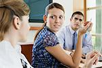 Colleagues having a discussion Stock Photo - Premium Royalty-Free, Artist: Cultura RM, Code: 6114-06604786