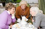 Friends gossiping Stock Photo - Premium Royalty-Free, Artist: CulturaRM, Code: 6114-06604843