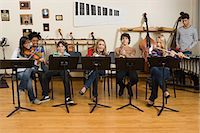 Band practice Stock Photo - Premium Royalty-Freenull, Code: 6114-06605001