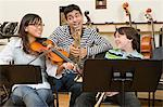Friends at band practice Stock Photo - Premium Royalty-Free, Artist: AWL Images, Code: 6114-06605009
