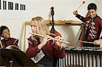 Band practice Stock Photo - Premium Royalty-Free, Artist: Blend Images, Code: 6114-06605015