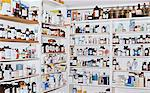 Shelves of medicines Stock Photo - Premium Royalty-Free, Artist: Blend Images, Code: 6114-06605195