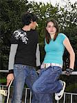 Teenage couple Stock Photo - Premium Royalty-Freenull, Code: 6114-06605242