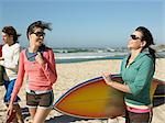 Friends going surfing Stock Photo - Premium Royalty-Free, Artist: Beth Dixson, Code: 6114-06605466