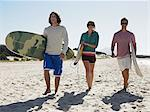 Friends going surfing Stock Photo - Premium Royalty-Free, Artist: Cultura RM, Code: 6114-06605478