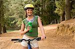 Cyclist in the forest Stock Photo - Premium Royalty-Free, Artist: Cusp and Flirt, Code: 6114-06605567