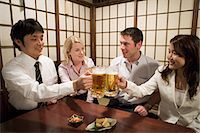 Colleagues in a bar Stock Photo - Premium Royalty-Freenull, Code: 6114-06605908