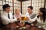 Colleagues in a bar Stock Photo - Premium Royalty-Free, Artist: Mark Burstyn, Code: 6114-06605908