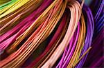 Colourful cane for basketry Stock Photo - Premium Royalty-Free, Artist: Ikon Images, Code: 6114-06606346