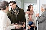 Family talking Stock Photo - Premium Royalty-Free, Artist: Westend61, Code: 6114-06606387