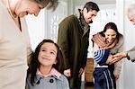 Visiting the grandparents Stock Photo - Premium Royalty-Free, Artist: Andrew Kolb, Code: 6114-06606428