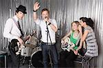 Rock band performing Stock Photo - Premium Royalty-Free, Artist: Siephoto, Code: 6114-06606469