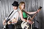Two guitarists Stock Photo - Premium Royalty-Free, Artist: CulturaRM, Code: 6114-06606472