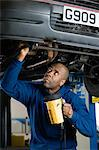 Mechanic Stock Photo - Premium Royalty-Free, Artist: CulturaRM, Code: 6114-06606551